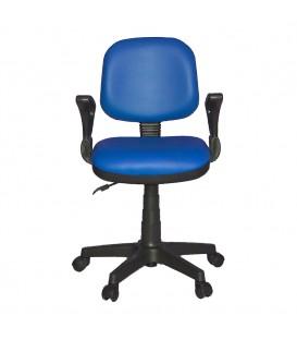 Ofisinhazır Kozmo Lux Kollu Çalışma Koltuğu Deri P.Mavi