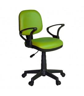 Ofisinhazır Kozmo Lux Kollu Çalışma Koltuğu Deri F.Yeşili