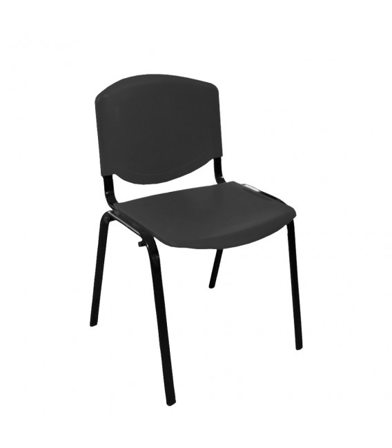 Ofisinhazır Form Plastik Sandalye Siyah