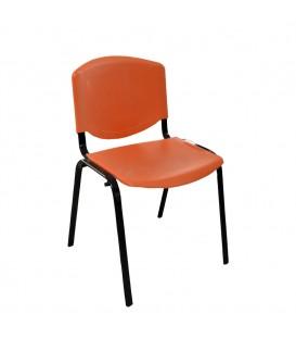 Ofisinhazır Form Plastik Sandalye Turuncu