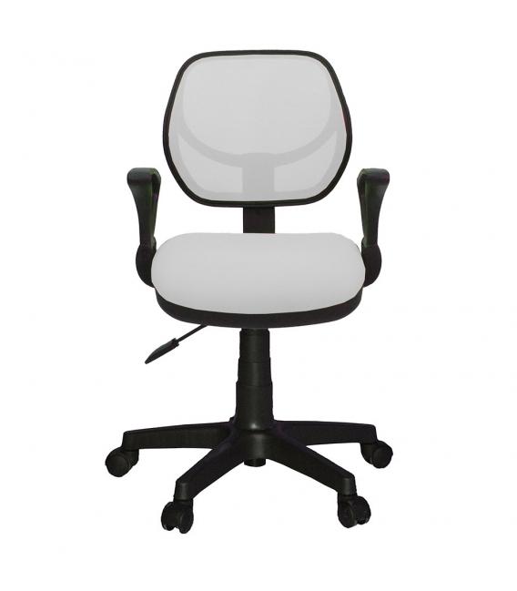 Ofisinhazır 804 File Çalişma Koltuğu Plastik Ayak Beyaz