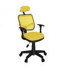 Ofisinhazır 817 File Koltuk Plastik Ayakli Sarı