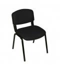 Ofisinhazır Form Sandalye 2 Adet Set Siyah - Deri