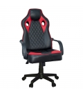 Ofisinhazır Spider Oyuncu Koltuğu Plastik Ayak Kırmızı