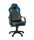 Ofisinhazır Spider Oyuncu Koltuğu Plastik Ayak Mavi