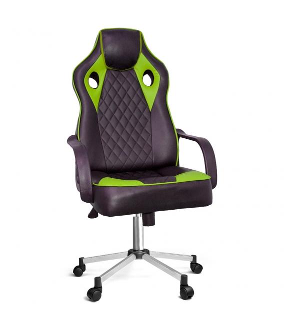 Ofisinhazır Spider Oyuncu Koltuğu Krom Ayak Yeşil