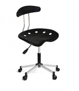 Ofisinhazır Nil Sandalye Krom Ayakli Siyah