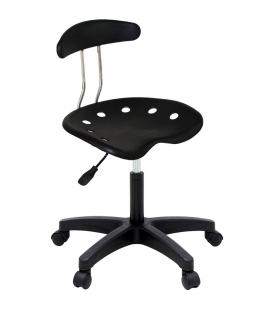 Ofisinhazır Nil Sandalye Plastik Ayak Siyah