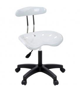 Ofisinhazır Nil Sandalye Plastik Ayak Beyaz