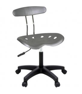 Ofisinhazır Nil Sandalye Plastik Ayak Gri