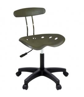 Ofisinhazır Nil Sandalye Plastik Ayak F.Yeşil