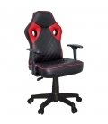 Ofisinhazır Spider Mini Oyuncu Koltuğu Plastik Ayak Kırmızı