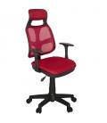 Ofisinhazır AS File Çalışma Koltuğu Plastik Ayak Kırmızı