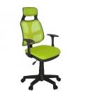 Ofisinhazır AS File Çalışma Koltuğu Plastik Ayak Yeşil