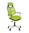Ofisinhazır AS File Çalışma Koltuğu Krom Ayak Yeşil