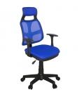 Ofisinhazır AS File Çalışma Koltuğu Plastik Ayak Mavi