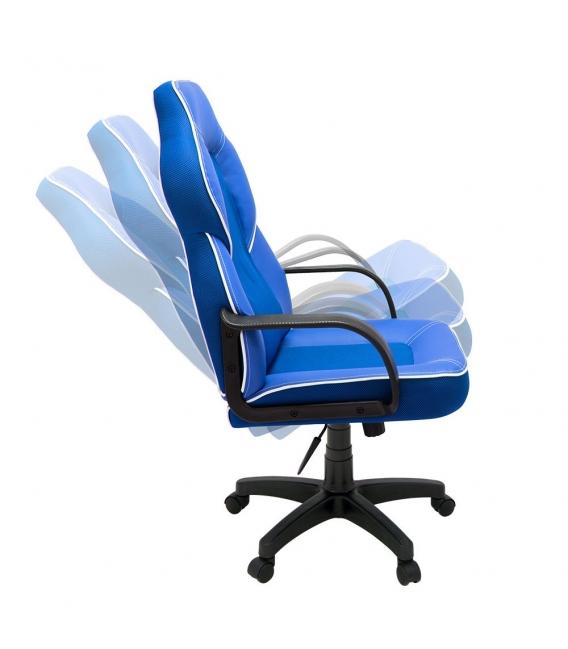 Ofisinhazır Lidya Plastik Kol Ve Ayakli Yönetici Koltuğu P.Mavi