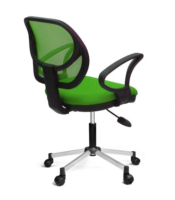 Ofisinhazır 804 File Çalişma Koltuğu Krom Ayak F.Yeşil