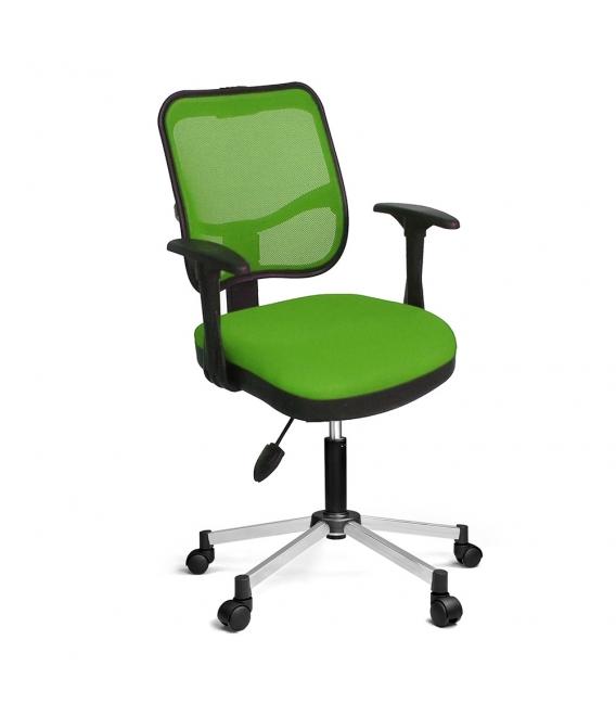 Ofisinhazır 807 File Koltuk Krom Ayak F.Yeşil