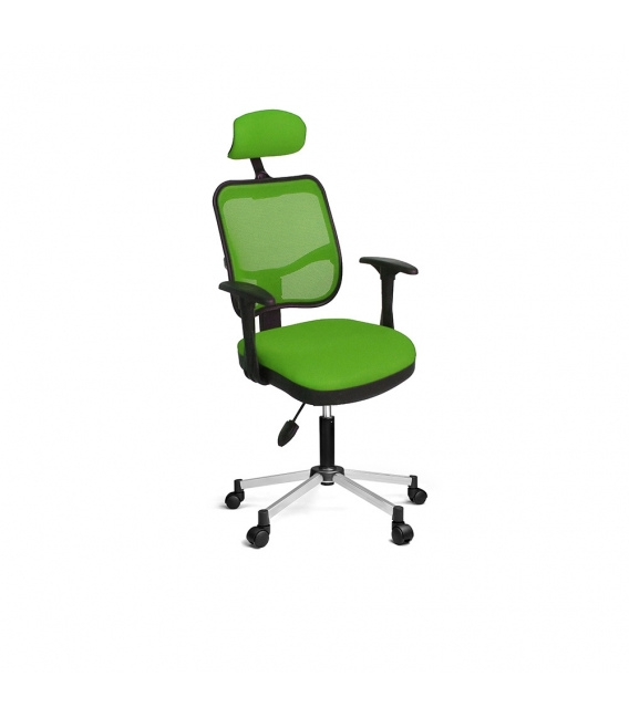 Ofisinhazır 817 File Koltuk Krom Ayakli  F.Yeşili