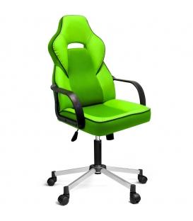 Ofisinhazır İnka Yönetici Koltuğu Plastik Kol Ve Krom Ayakli F.Yeşil
