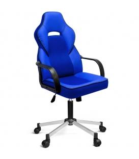 Ofisinhazır İnka Yönetici Koltuğu Plastik Kol Ve Krom Ayakli P.Mavi