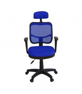 Ofisinhazır 817 File Koltuk Plastik Ayakli P.Mavi