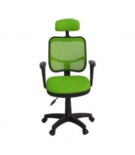 Ofisinhazır 817 File Koltuk Plastik Ayakli  F.Yeşili