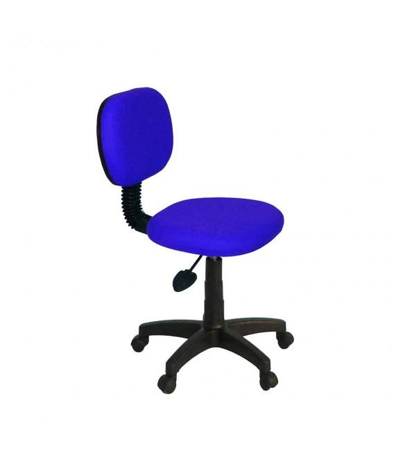 Ofisinhazır Eko Kolçaksiz Koltuk Plastik Ayak P.Mavi