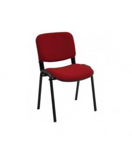 Ofisinhazır Form Sandalye 2 Adet Set Bordo - Deri