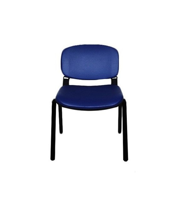 Ofisinhazır Form Sandalye 2 Adet Set P.Mavi - Deri